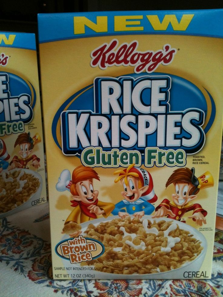 Kellogg's Rice Krispies Goes Gluten-Free