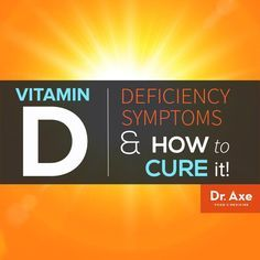 Vitamin D Deficiency symptoms and cure