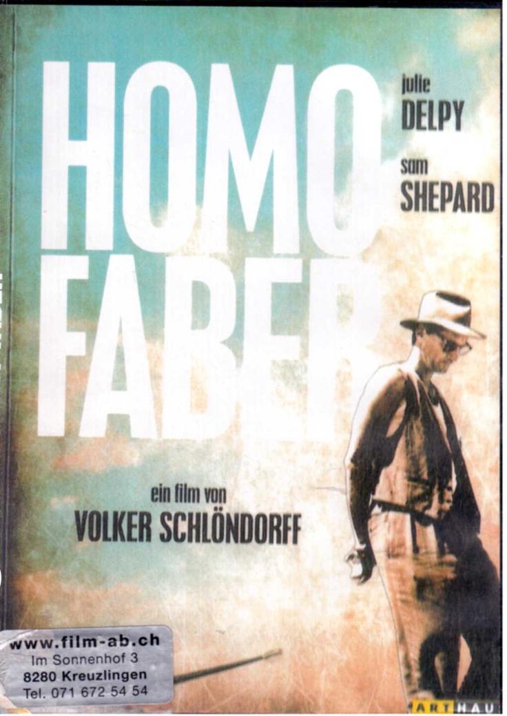 Sam Shepard, Julie Delpy - Homo Faber