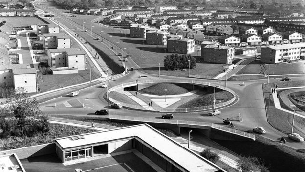 Stevenage's network of roads, pathways and cycleways was designed to keep residents safe