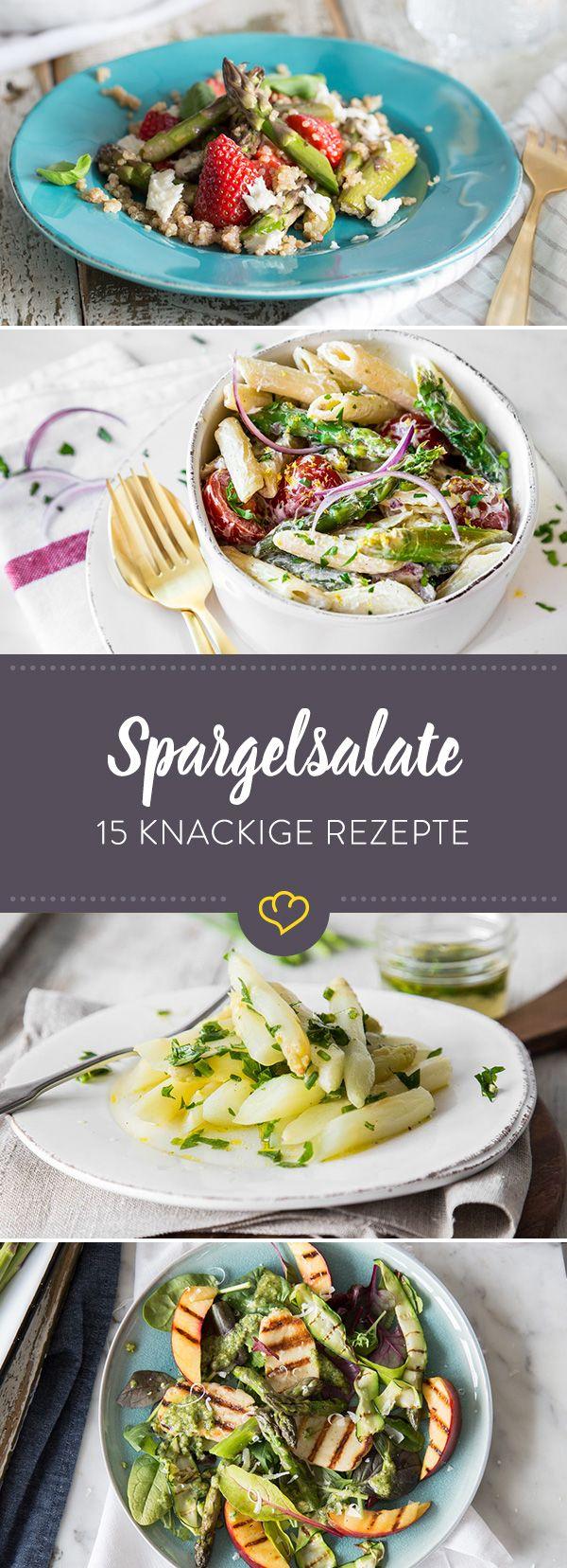 Ran an die Stangen: 15 knackige Spargelsalate für den Frühling