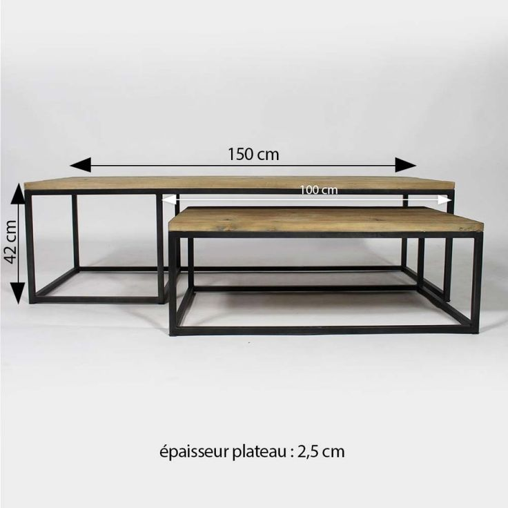 les 25 meilleures id es de la cat gorie tables basses industrielles sur pinterest meubles en. Black Bedroom Furniture Sets. Home Design Ideas