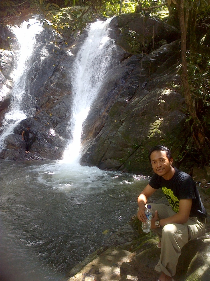 latuppa waterfall palopo - South Sulawesi Indonesia.