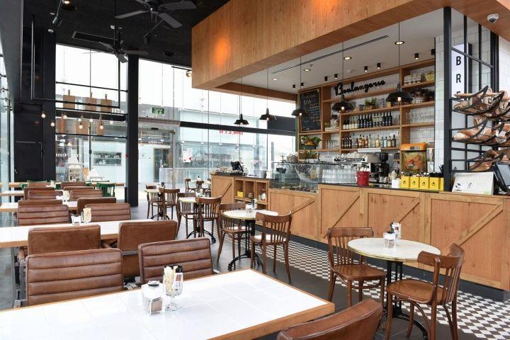 Biga Bakery & Café by Eti Dentes Interior Design, Kfar Saba – Israel
