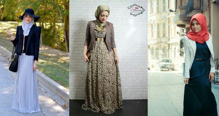 Model Baju Hijab Trendy