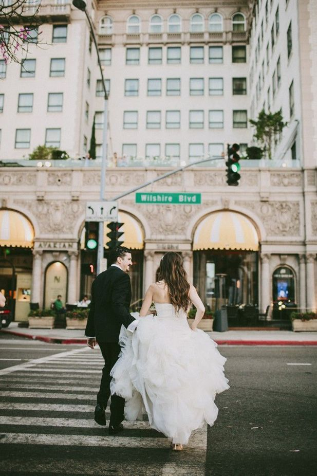 All About Beverly Wilshire Weddings on MHW! | Southern California luxury wedding venues with ballrooms