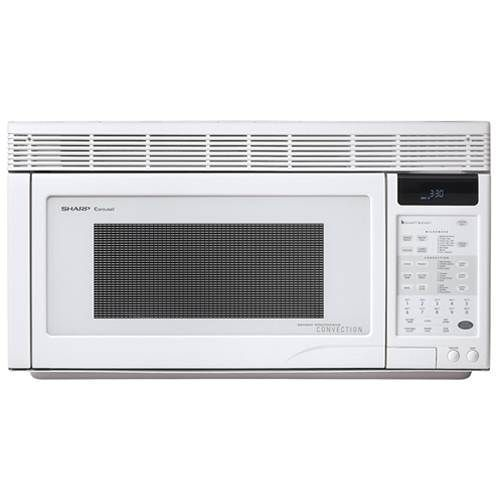 Sharp 1.1 Cubic Foot Convection Over The Range Microwave