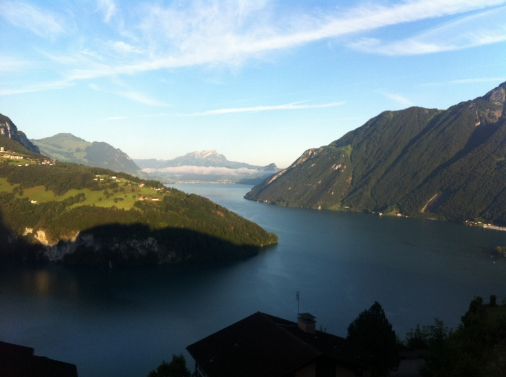 Lake of Lucerne in the morning...