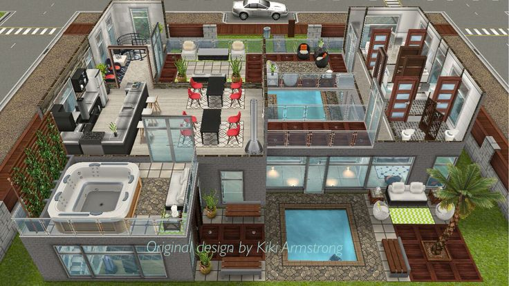 10 best images about the sims freeplay house designs on for Sims 4 balcony