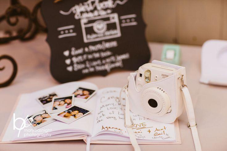 Polaroid Guest Book | Sanderling Resort Weddings
