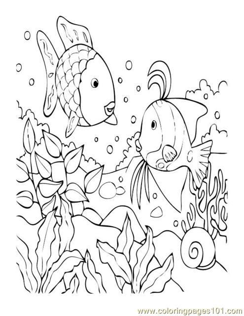 Coloring Coral Fish Pages 2020 Turtle Coloring Pages
