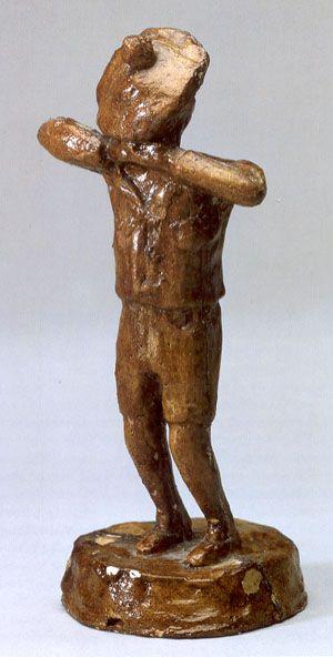 August Strindberg 1891. sculpture.  http://www.zwoje-scrolls.com/zwoje41/text07p.htm