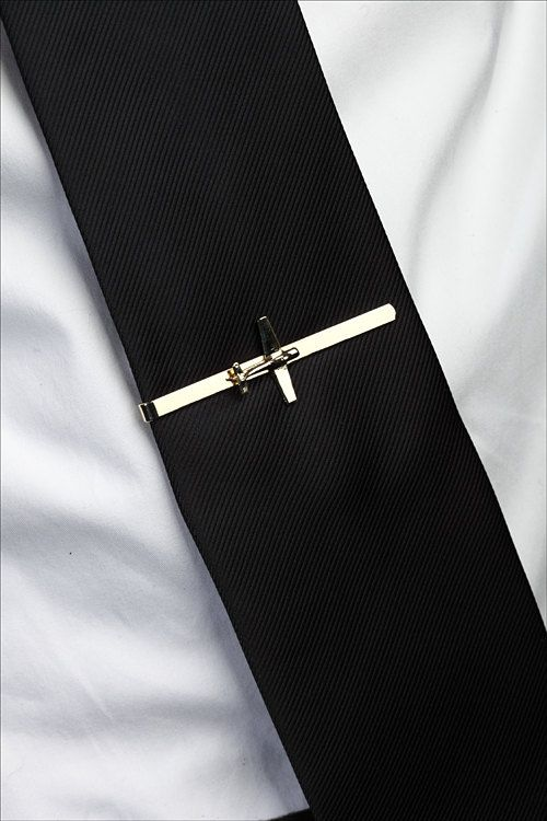 Men gift pilot gift airplane jewelry Men airplane tie by TomerM                                                                                                                                                      Plus
