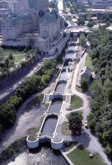 World unesco heritage site- Ottawa's Rideau Canal