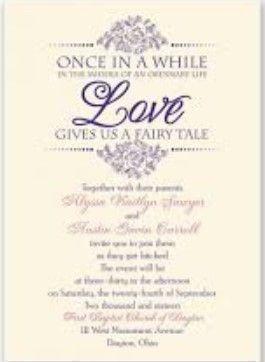 Writing wedding invitations and Wedding invitations