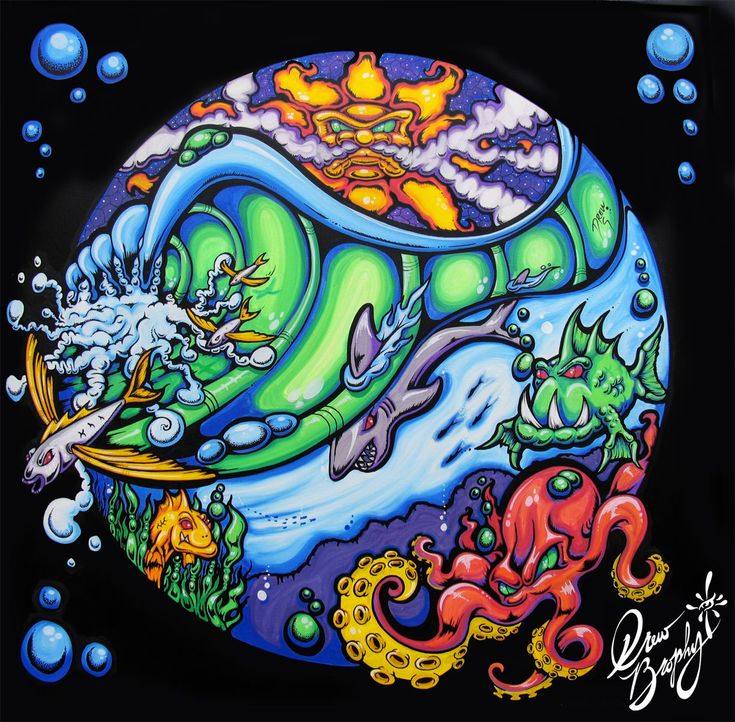 Skateboard Girl Wallpaper Surf Art Drew Brophy Surf Lifestyle Artist To Paint