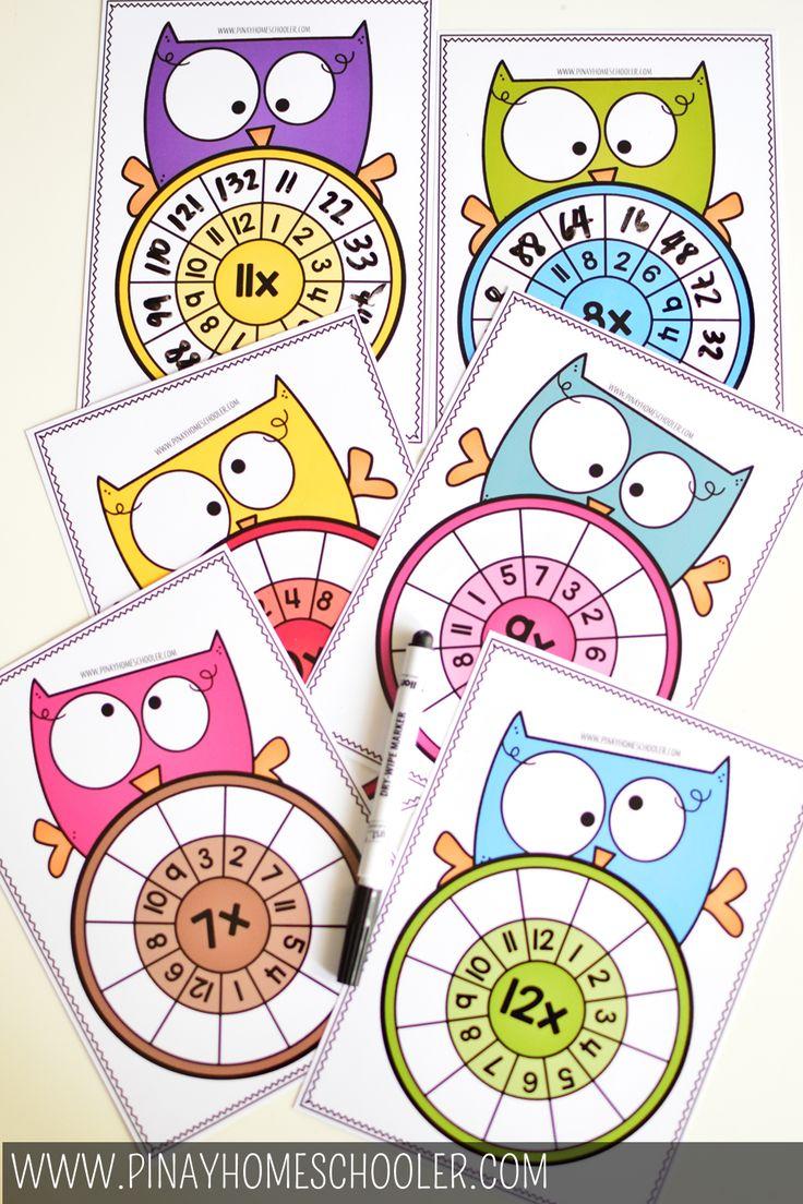 Owl Multiplication Wheel Multiplication wheel, Super