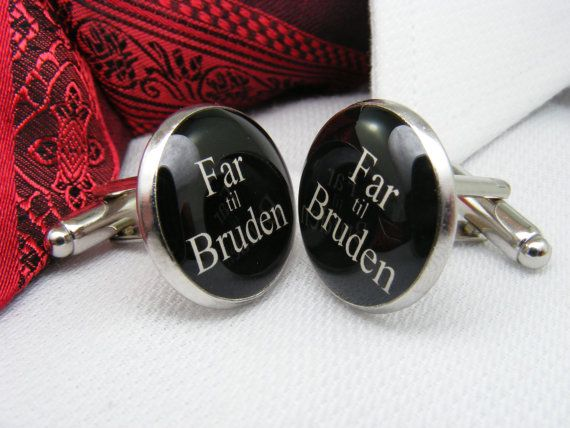 Far til Bruden  Manchetknapper  Father of the by UpscaleTrendz, $39.00