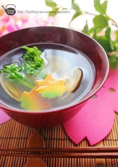 菜の花とはまぐりのお吸い物』 by 松本純子さん | レシピブログ - 料理 ...