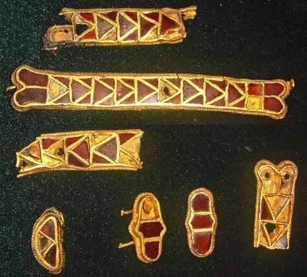 The Hunnic treasure of Nagyszéksós (dated to around 430 AD) was found in 1926 in a vineyard near the village of Nagyszéksós just outside of Szeged, in the Hungarian County Csongrád.