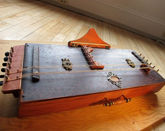 Steampunk Hammered Dulcimer instrument. by rootworks on Etsy