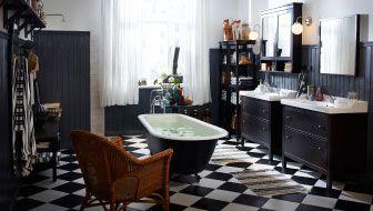17 best salle de bain retro urbain images on pinterest. Black Bedroom Furniture Sets. Home Design Ideas