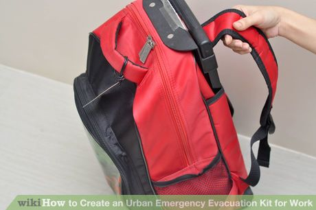 Image titled Create an Urban Emergency Evacuation Kit for Work Step 1