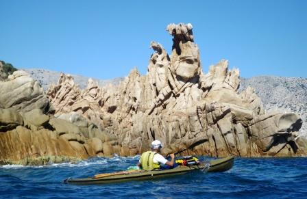 Isola di Molara – Punta di Levante – lo scoglio del dinosauro