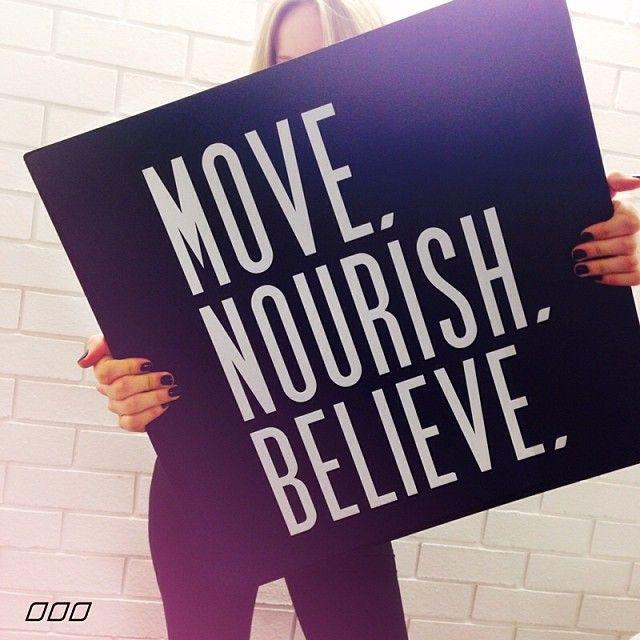 MOVE NOURISH BELIEVE