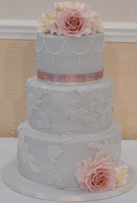 Lace and rose
