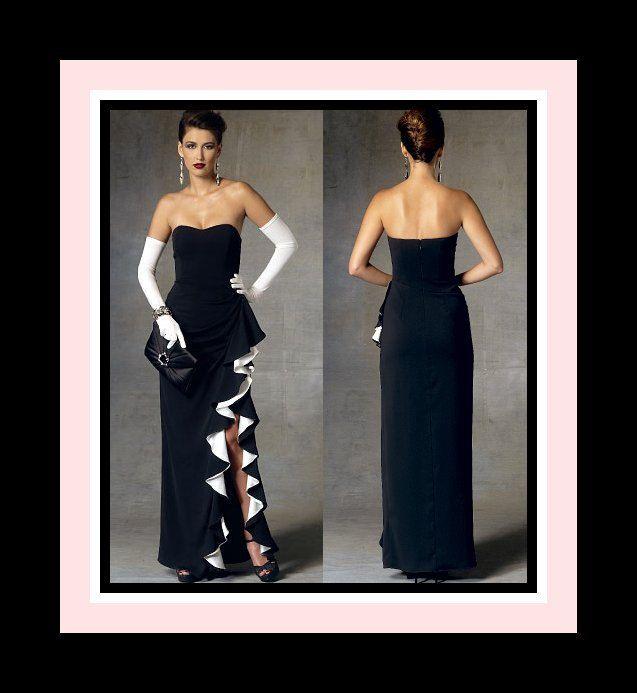 156 best Designer Sewing Patterns images on Pinterest | Abendkleid ...