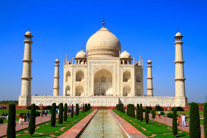 Чудо света.Тадж-Махал в Индии.