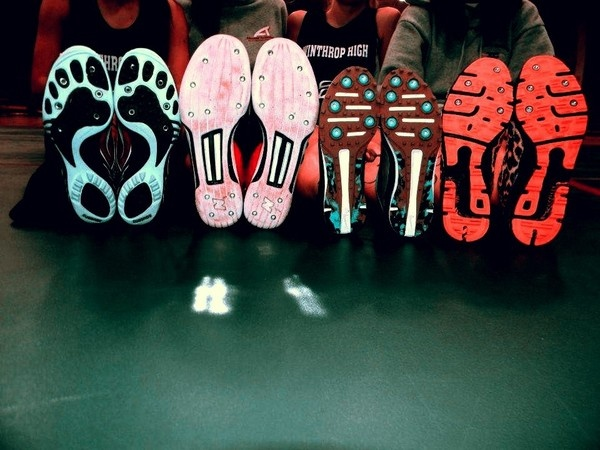 Track and field spikes!