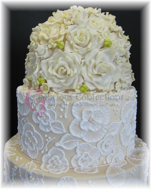 sugar flowers wedding cake decorations 17 best images about brush embroidery on 20577