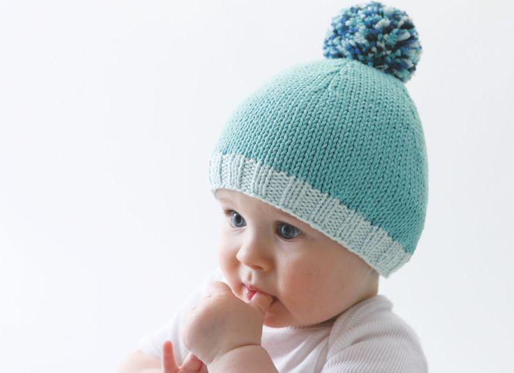 Tricotez cet adorable bonnet à pompon pour bébé. Des couleurs acidulées, un fil acrylique douillet et chaud, bref c' est l' accessoire idéal des tout petits ! A découvrir aussi ...