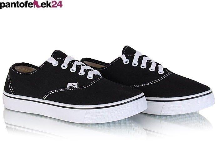 Czarne trampki / Black sneakers / 23,90 PLN #sneakers #summer #black #trampki #lato #spring #wiosna