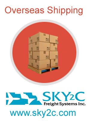 Sky2c Freight Shippers provide the services of overseas shipping at very low cost and give you safest delivery on time on your final destination place.  http://www.sky2c.com/commercial-cargo-with-international-ocean-freight.htm