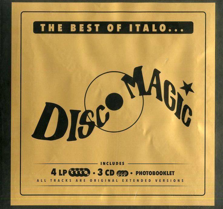 The Best Of Italo... Discomagic - Box- 4 LP+3 CD   Nuovo Sigillato