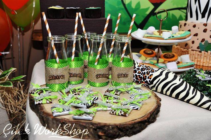Gökdeniz 1 Yaş Safari Doğum Günü Partisi - 25