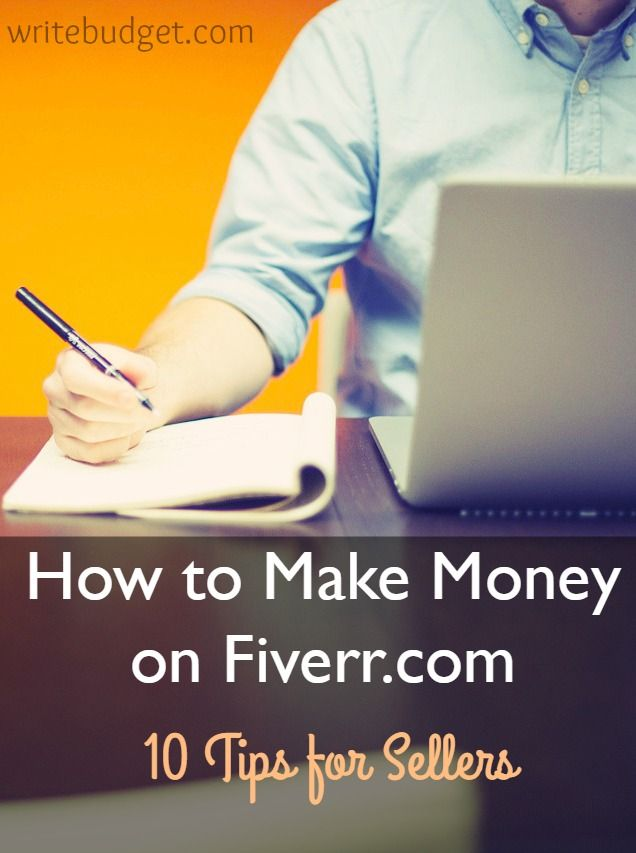 Find out how to make extra money on Fiverr as a freelancer! Here are my 10 best tips for sellers