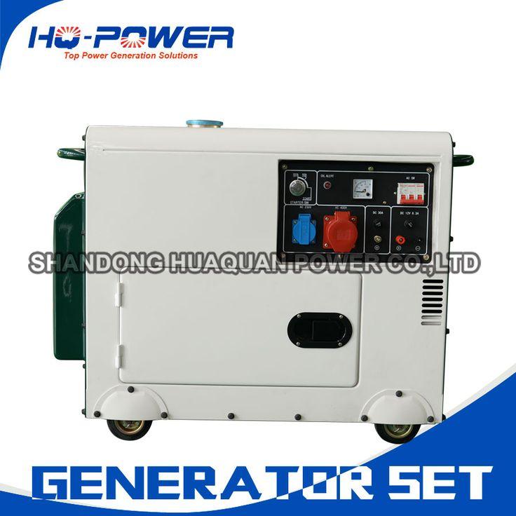 silent generators portable 5000watt 5kw mini diesel genset #Affiliate