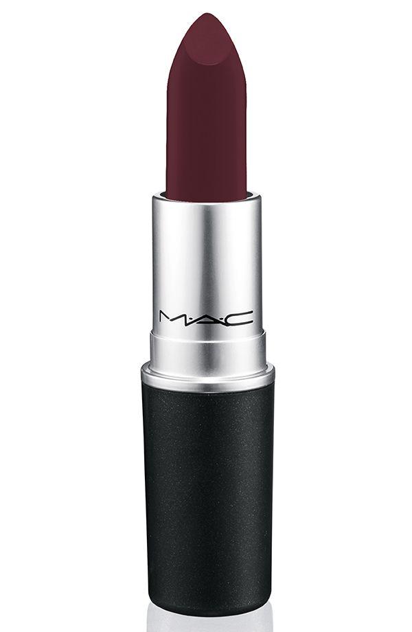 MAC Nasty Gal Collection: 3 Dark and Vampy Matte lipsticks!!!!! Runner burgundy (matte)