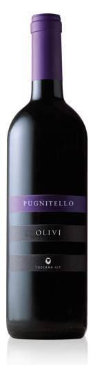 PUGNITELLO 2009.  An ideal choice for those who are looking for a particular wine, a wine of a great personality and character shaped by its terroir of origin.  Pugnitello is obtained from a homonymous variety from Tuscany.  Giuseppe Olivi had the pleasure to receive the DIPLOMA D'ONORE for the PUGNITELLO 2009, inside the Top 100 Tuscan wines