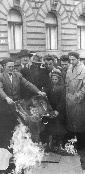 "October 23,1956: The Hungarian revolution takes place when ""Hungarians declare[d] their independence against Soviet rule."""