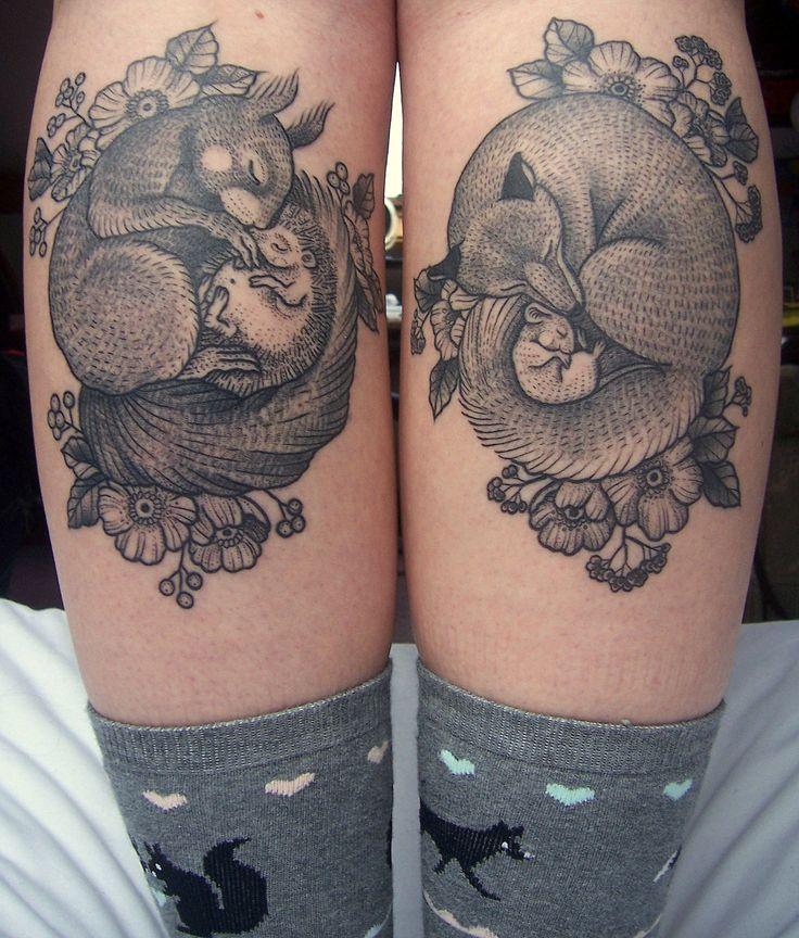 Susanne König at Salon Serpent in Amsterdam #ink #tattoo