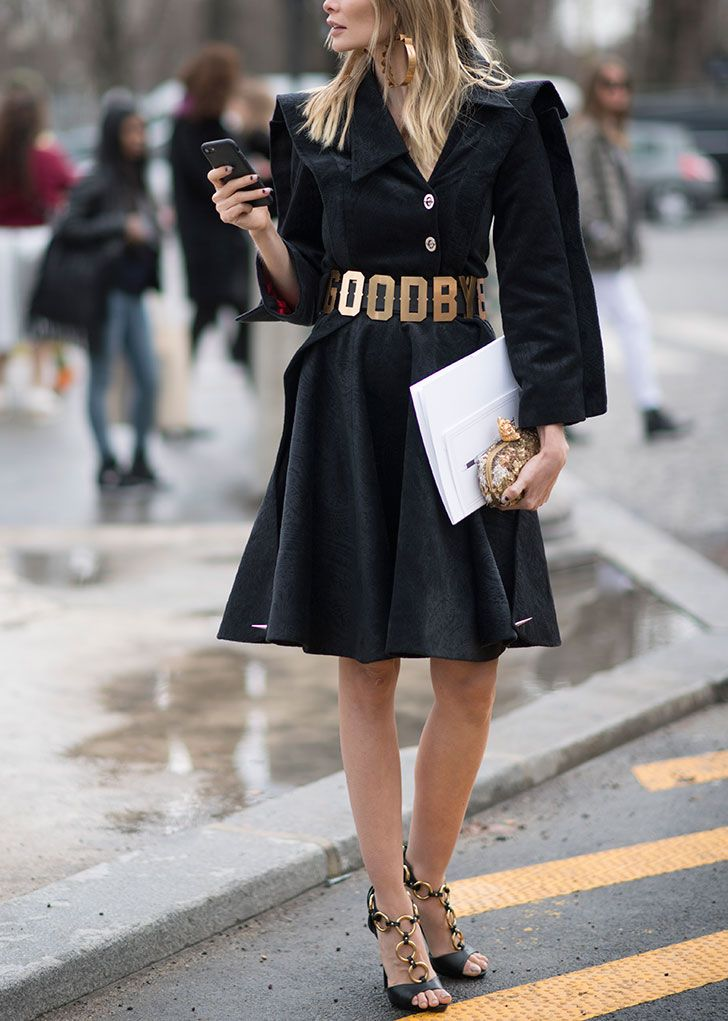 9 Ways to Wear All Black Without Feeling Like You're Going to a Funeral #RueNow