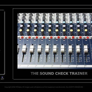 How to connect a mixing board for live sound system use
