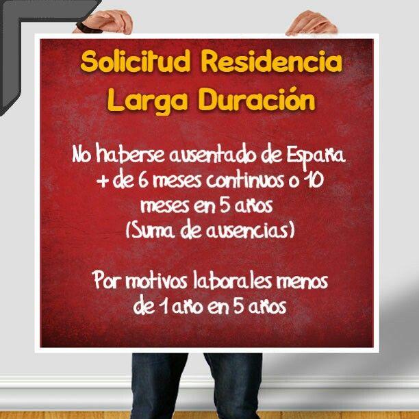 Si quieres obtener tu #residencia de larga duración en España no pierdas de vistas estos lapsos máximos permitidos fuera del país.  Saca tu cuenta al momento de pedirla  para no llevarte sorpresas!!!   #extranjero #inmigrante #espana #abogados #valencia