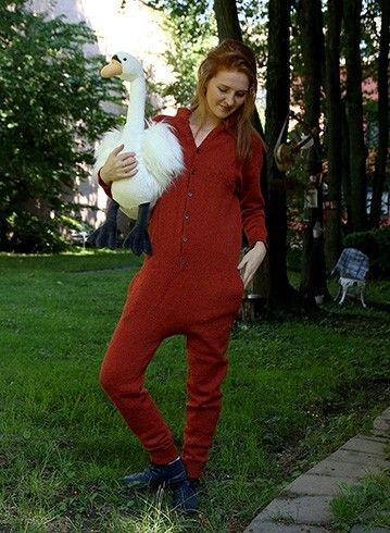 Hvorfor er det bare babyer og småbarn som skal kunne bruke heldress i ull? Herlighet for et deilig og praktisk vinterplagg!
