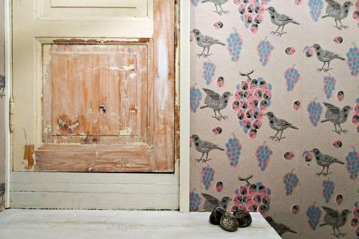 Pariskunta on tyytyväinen, kun kodissa on säilytetty alkuperäiset ovet.